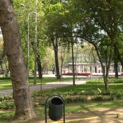 Parque Brasil en Santiago