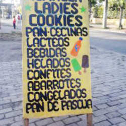 Almacén Ladies Cookies en Santiago