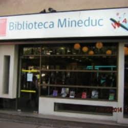 Biblioteca Mineduc en Santiago