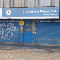 Aceites y Filtros S.A en Bogotá