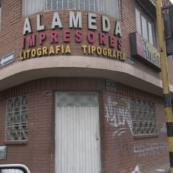 Alameda Impresores en Bogotá