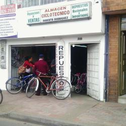 Almacen Ciclotecnico Roberto Rodriguez en Bogotá