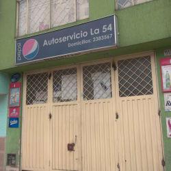 Autoservicio La 54 en Bogotá