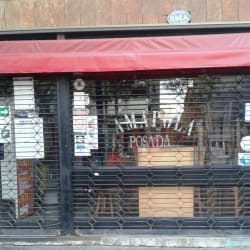 Bar posada Amapola en Santiago
