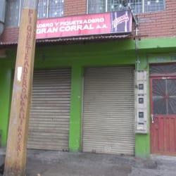 Asadero y piqueteadero el gran corral a.a en Bogotá