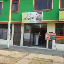 Asarepas en Bogotá