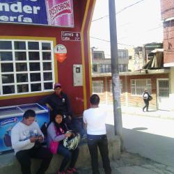 Autolavado Santander Cafetería en Bogotá