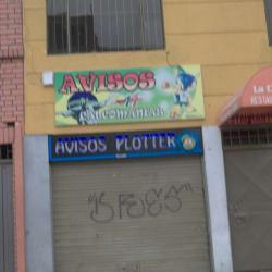 Avisos 14 Calcomanías en Bogotá