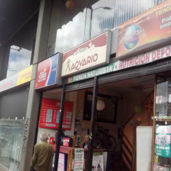 Cafe Libro La Era De Acuario en Bogotá