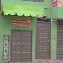 Cafetería donde el paisa en Bogotá