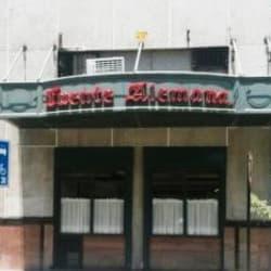 Fuente Alemana - Pedro de Valdivia en Santiago