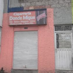 Cigarreria Donde Migue en Bogotá