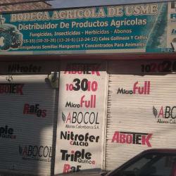 Bodega Agrícola de Usme en Bogotá