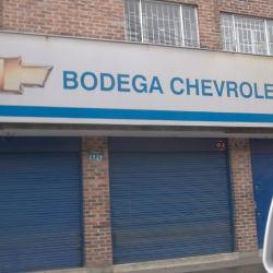 Bodega Chevrolet en Bogotá