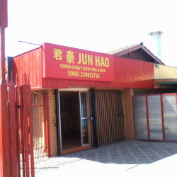 Jun Hao  en Santiago