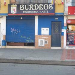 BUrdeos Pastelería y Arte en Bogotá