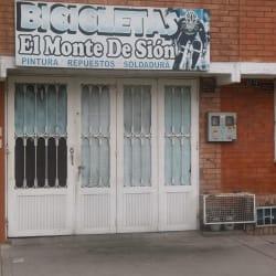 Bicicletas El Monte de Sion en Bogotá