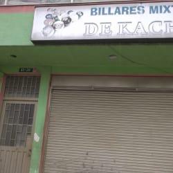 Billares Mixtos de Kache en Bogotá