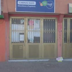 Cabinas Mafe en Bogotá