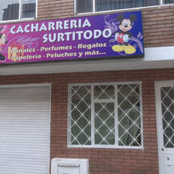 Cacharrería Surtitodo en Bogotá