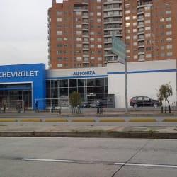 Chevrolet Autoniza Avenida Suba en Bogotá