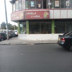 Candela y Sabor Transversal 44 en Bogotá