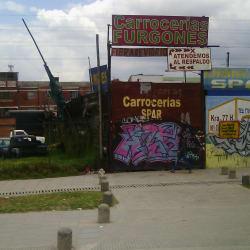 Carrocerias y Furgones Spar en Bogotá