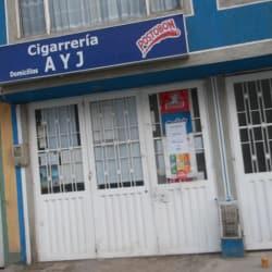 Cigarreria A y J en Bogotá
