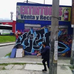 Extintores Avenida Carrera 68 en Bogotá