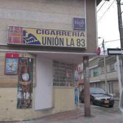 Cigarreria La Union 83 en Bogotá