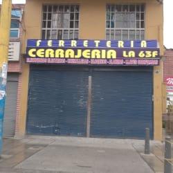 Ferretería Cerrajería la 63F en Bogotá