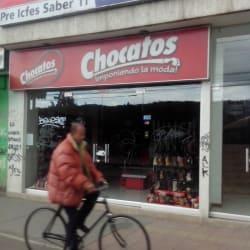 Chocatos en Bogotá