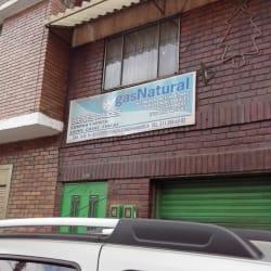 Gas Natural Carrera 14 Con 14 en Bogotá