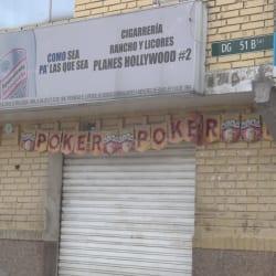 Cigarrería Rancho y Licores Planes Hollywood #2 en Bogotá