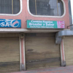 Comidas Rápidas Broaster y Sabor en Bogotá