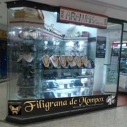 Joyeria Arawak Filigrana de Mompox en Bogotá