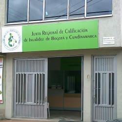 Junta Regional de Calificación de Invalidez de Bogotá y Cundinamarca Sede Notificación en Bogotá