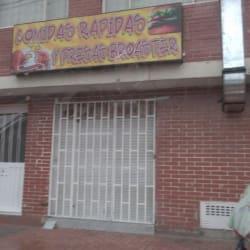 Comidas Rápidas y Presas Broaster en Bogotá