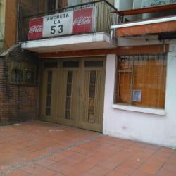 Ancheta la 53 en Bogotá