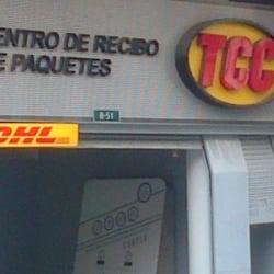 Centro de Recibo de Paquetes TCC en Bogotá
