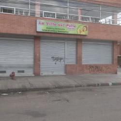 La villa del pollo express en Bogotá