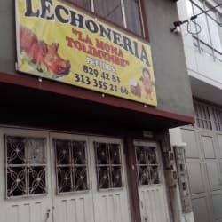 Lechoneria La Mona Tolimense en Bogotá
