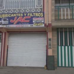 Lubricantes y filtros en Bogotá