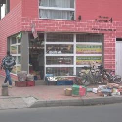 Mercafruver comunal en Bogotá