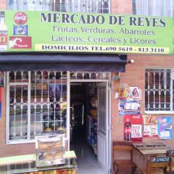 Mercado de Reyes en Bogotá