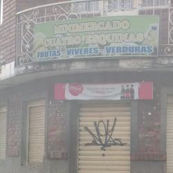 Minimercado cuatro esquinas en Bogotá