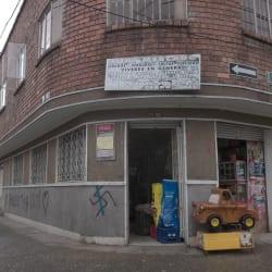 Mini mercado en Bogotá