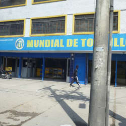 Mundial de tornillos en Bogotá