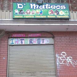 D´Mateos en Bogotá