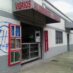 Vidrios Aluminios  en Bogotá
